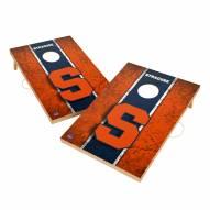 Syracuse Orange 2' x 3' Vintage Wood Cornhole Game