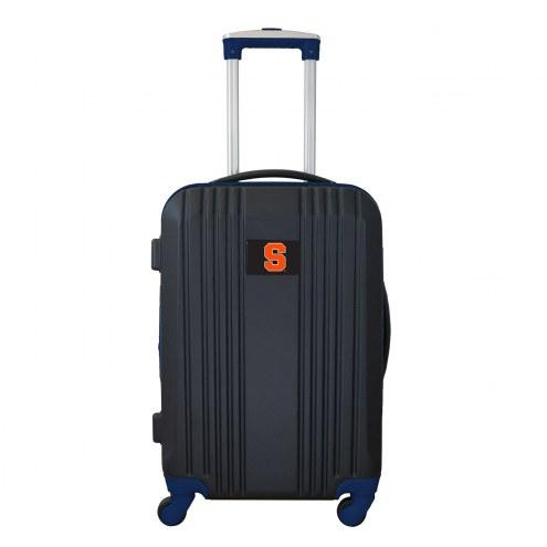 """Syracuse Orange 21"""" Hardcase Luggage Carry-on Spinner"""