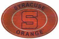 """Syracuse Orange 46"""" Heritage Logo Oval Sign"""