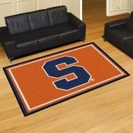 Syracuse Orange 5' x 8' Area Rug