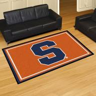 Syracuse Orange 5' x 8' Area Rug