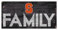 """Syracuse Orange 6"""" x 12"""" Family Sign"""