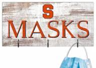 """Syracuse Orange 6"""" x 12"""" Mask Holder"""
