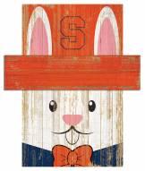 "Syracuse Orange 6"" x 5"" Easter Bunny Head"