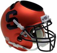 Syracuse Orange Alternate 1 Schutt Football Helmet Desk Caddy