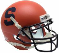 Syracuse Orange Alternate 1 Schutt Mini Football Helmet