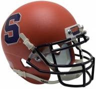 Syracuse Orange Alternate 2 Schutt Mini Football Helmet