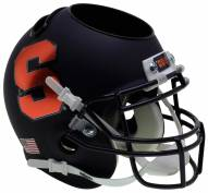 Syracuse Orange Alternate 3 Schutt Football Helmet Desk Caddy