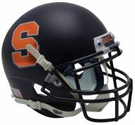 Syracuse Orange Alternate 3 Schutt Mini Football Helmet