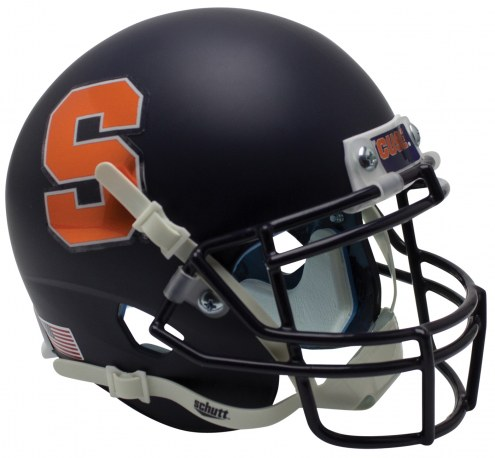 Syracuse Orange Alternate 3 Schutt XP Collectible Full Size Football Helmet