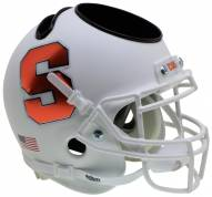 Syracuse Orange Alternate 4 Schutt Football Helmet Desk Caddy