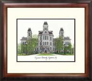 Syracuse Orange Alumnus Framed Lithograph