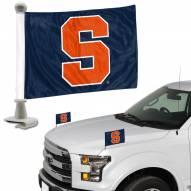 Syracuse Orange Ambassador Hood & Trunk Car Flag