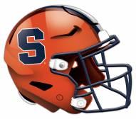 Syracuse Orange Authentic Helmet Cutout Sign