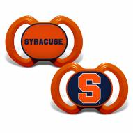 Syracuse Orange Baby Pacifier 2-Pack