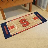 Syracuse Orange Basketball Court Runner Rug