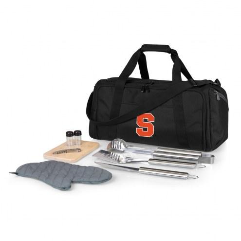 Syracuse Orange BBQ Kit Cooler
