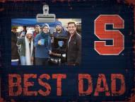 Syracuse Orange Best Dad Clip Frame