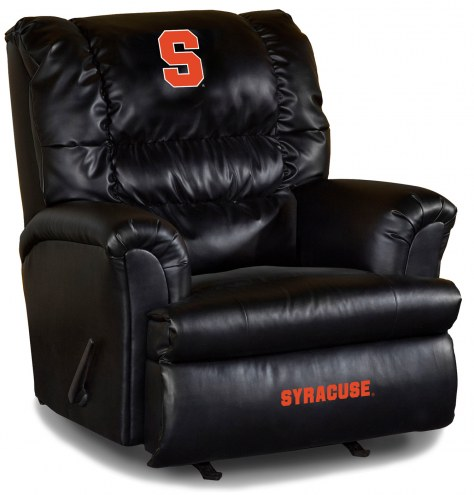 Syracuse Orange Big Daddy Leather Recliner