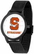 Syracuse Orange Black Mesh Statement Watch