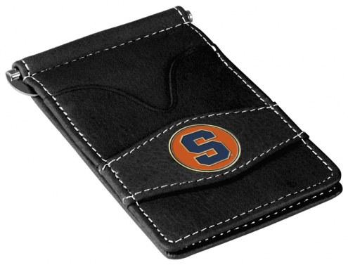 Syracuse Orange Black Player's Wallet
