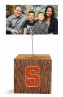 Syracuse Orange Block Spiral Photo Holder