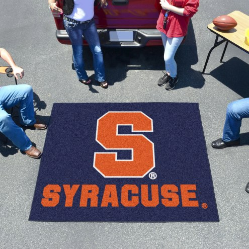 Syracuse Orange Blue Tailgate Mat
