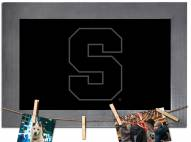 Syracuse Orange Chalkboard with Frame