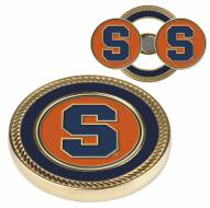 Syracuse Orange Challenge Coin with 2 Ball Markers