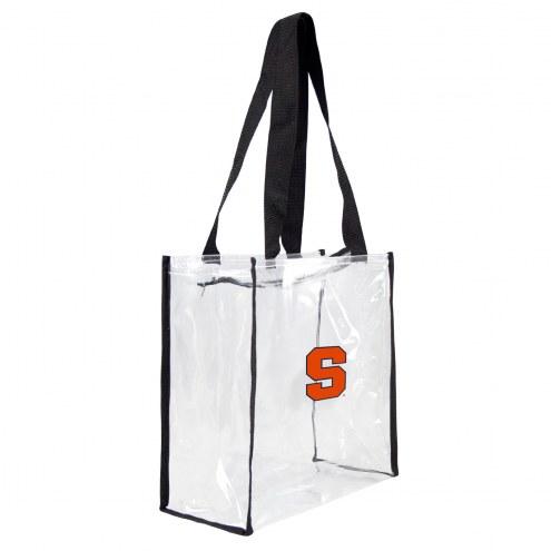 Syracuse Orange Clear Square Stadium Tote