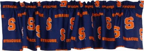 Syracuse Orange Window Valance