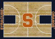 Syracuse Orange College Home Court Area Rug