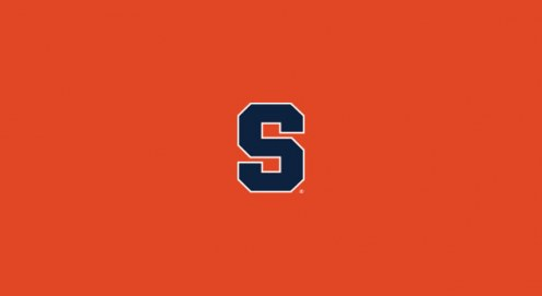 Syracuse Orange College Team Logo Billiard Cloth