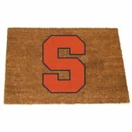 Syracuse Orange Colored Logo Door Mat