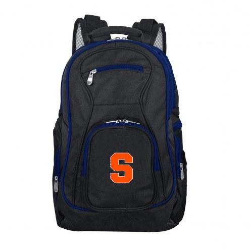 NCAA Syracuse Orange Colored Trim Premium Laptop Backpack