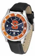 Syracuse Orange Competitor AnoChrome Men's Watch - Color Bezel