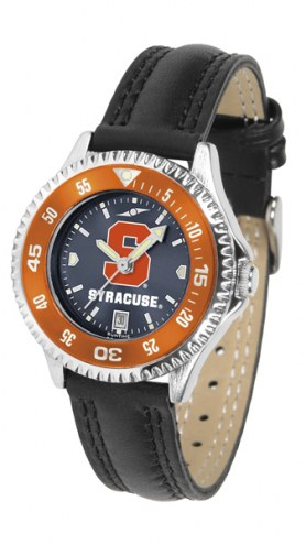 Syracuse Orange Competitor AnoChrome Women's Watch - Color Bezel