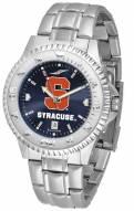 Syracuse Orange Competitor Steel AnoChrome Men's Watch