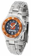 Syracuse Orange Competitor Steel AnoChrome Women's Watch - Color Bezel