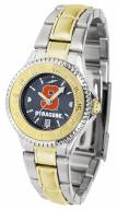Syracuse Orange Competitor Two-Tone AnoChrome Women's Watch