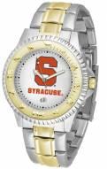 Syracuse Orange Competitor Two-Tone Men's Watch