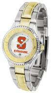 Syracuse Orange Competitor Two-Tone Women's Watch