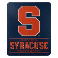 Syracuse Orange Control Fleece Blanket
