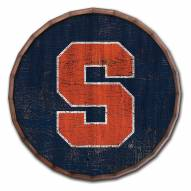 """Syracuse Orange Cracked Color 16"""" Barrel Top"""