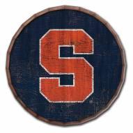 """Syracuse Orange Cracked Color 24"""" Barrel Top"""