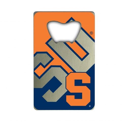 Syracuse Orange Credit Card Style Bottle Opener