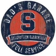 Syracuse Orange Dad's Garage Sign