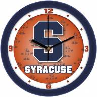 Syracuse Orange Dimension Wall Clock