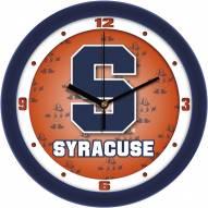 Syracuse Orange Dimension Wall Clock