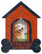Syracuse Orange Dog Bone House Clip Frame